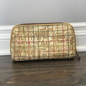 Coach Bags - Coach Make Up Cosmetic Bag